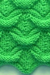 Wavy Knit Patterns