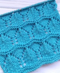Wavy Stitch Knitting Pattern